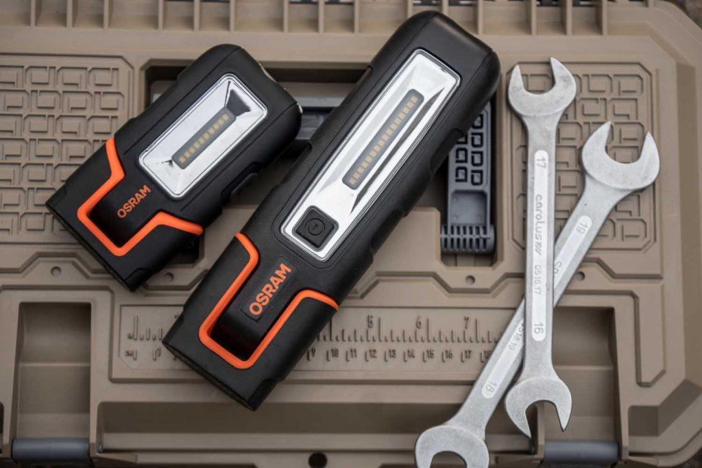 Osram Handlampen CP80 und Pro 180